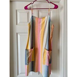 Billabong Straight Round Multicolor Mini Dress NTW